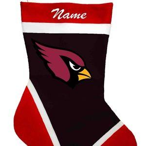 Arizona Cardinals Personalized Christmas Stockings